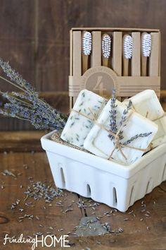 HomemadeGoatsMilkGiftBasket thumb How to Make Homemade Goats Milk Soap (Recipe)