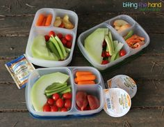 Lunches for a Family Weekend Away!   with @EasyLunchboxes