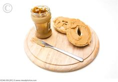 Peanut Butter Wheat Bagel ... ALWAYS go with JIF