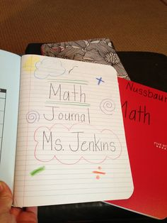 Math journaling, Fantastic ideas here!