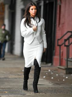Kim Kardashian in NYC