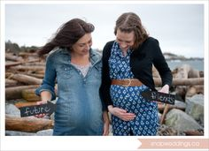 Amanda & Renee - best friends since elementary school are both pregnant with their firsts!  Victoria, B.C maternity photographer http://www.snapweddings.ca