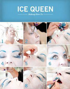 Get this Ice Queen look from #PaulaDeen!