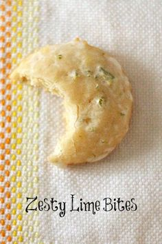 lime glazed chewy lime cookies