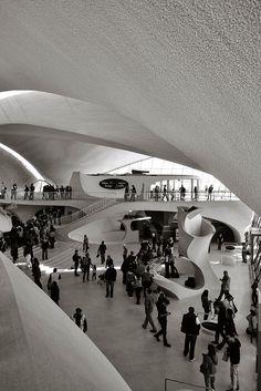 TWA Terminal @ JFK Airport. Eero Saarinen, 1962.