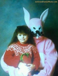 Easter bunny or a bat?