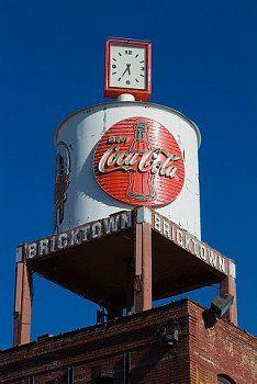 Water Tower, Bricktown, Oklahoma