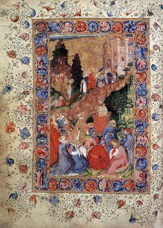MINIATURIST, English Chaucer: Troilus and Criseyde c. 1400 Manuscript (Ms. 61) Corpus Christi College, Cambridge