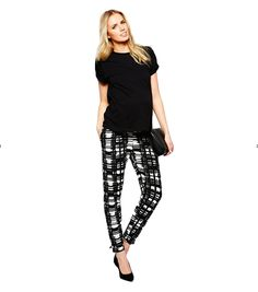A spring closet must-have: ASOS peg trouser in check