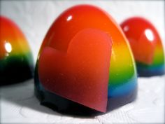 I ♥ NY! Rainbow Jello Shots