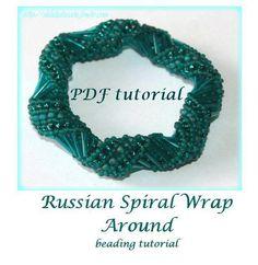 Beading pattern Russian Spiral