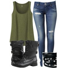 cute outfits with black combat boots | black, boots, cute, fashion