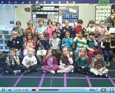 VIDEO - Kindergarten Performance: ABC Phonics Sing, Sign and Read! Children memorize, recite, and perform language.
