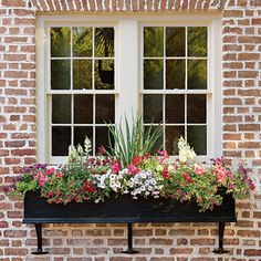 window boxes-southernliving.com | looks like your kitchen window