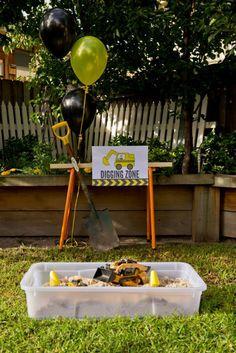 Construction Birthday Party Planning Ideas Supplies Idea Cake