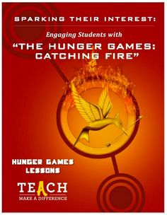 Free download to use #CatchingFire and pop culture in your classroom (all content areas)! Via Teach.com and Hunger Games Lessons http://teach.com/great-educational-resources/sparking-their-interest-engaging-students-with-the-hunger-games-catching-fire