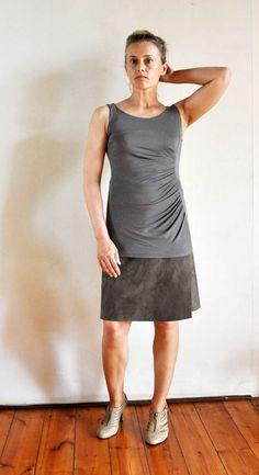 organized living solutions: How to make a no-sew, wrap-around skirt