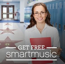 Bring SmartMusic into your program today for FREE. Watch sessions 1, 2, and 3 of our online clinic series and receive a free* 1-year educator subscription and two (2) free 90-day student subscriptions.