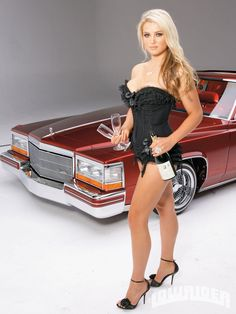 Lowrider Girls and Motorcycles | Lowrider Models Wallpaper Motorcycle Pictures
