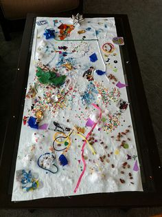 Contact Paper Sticky Table