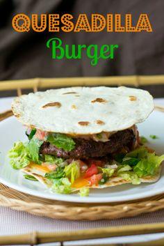 Quesadilla Burger on MyRecipeMagic.com