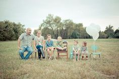 Family waiting adoption...just a cool idea!