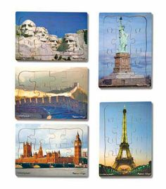From the #outlet store: the World Landmarks Puzzle Set now $35.99 #MelissaAndDoug