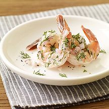 Dill Shrimp, Only 1 WW Points+ per 3 shrimp!