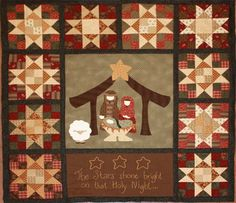 nativity quilts, season, quiltswal hang, natal, christmaswint quilt