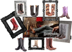 """Boots For Ladies-Works of Art""   Boots for ladies available at www.bootdaddy.com"