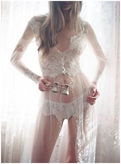 Claire Pettibone Heirloom Lingerie Collection...online store coming soon...   Photo; Elizabeth Messina