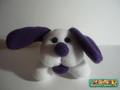 dog stuffed animal pattern- Not in English but the pictures are pretty detailed so you get an idea of what to do!