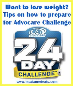 How to prepare for Advocare Diet #yourweightlossmethods