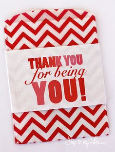 Thank You For Being You Printable