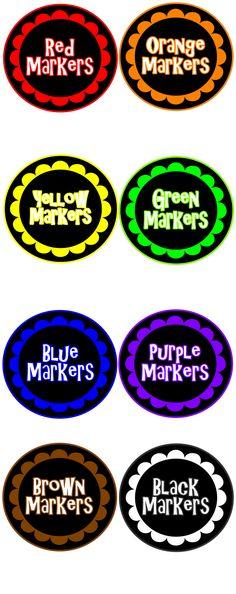 Marker Labels