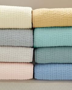 Dream Cotton Quilt and Sham - Garnet Hill