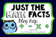 Math Coach's Corner: #TrendingInMath.  Amazing blog hop with resources for fact fluency!