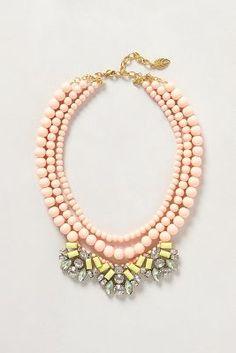Peach vs. Neon. xx Dressed to Death xx #accessories #jewelry #fashion #style #art