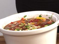 Healthy Slow Cooker Chili Recipe : Food Network - FoodNetwork.com