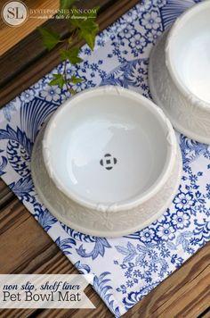 Pet Place Mats | non slip feeding mats for pet bowls