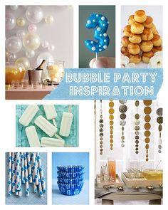Bubble Party Inspiration
