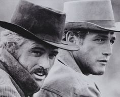 Paul Newman and Robert Redford  Butch Cassidy and the Sundance Kid