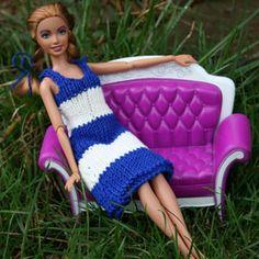 pattern crochet, doll cloth, doll dresses, navi dress