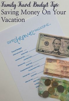 Although not specific to Disney World ... several of thee tips can still help you save on the cost of your Disney vacation! ~ Family Travel Budget Tips: Saving Money on Your Vacation