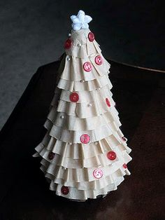 holiday, christmas crafts, filter christma, christmas decorations, christma tree, tree crafts, christmas trees, coffee filters, coffe filter