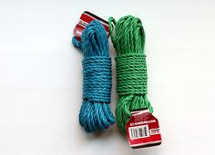 $ Tree has nice thick colored rope that make great fillers for boys that can be used to tie animals or for putting together a useful household item.