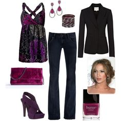 hello there purple heels