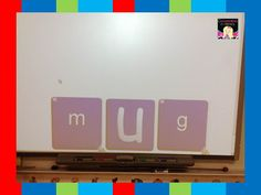 Using Smartboard Dice to Help Students to Blend Sounds into Words- Recording Sheet included!