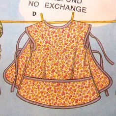 Sewing Pattern girls Apron
