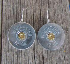 Diamond B Jewelry -Silver 12 G AMMO EARRINGS ****NEW*** $15